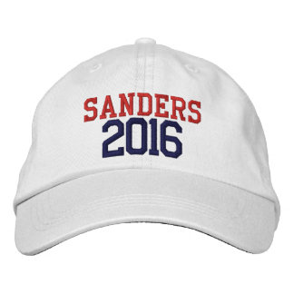 Bernie Sanders President 2016 Embroidered Hat