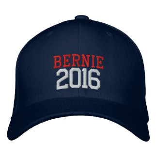 Bernie Sanders President in 2016 Embroidered Hat