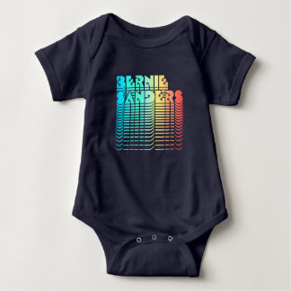 Bernie Sanders Retro 70s 80s Baby Bodysuit