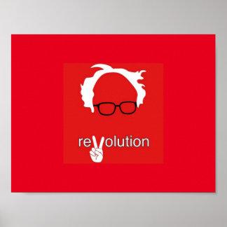 Bernie Sanders Revolution Poster