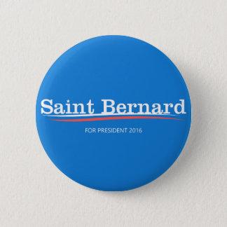 "Bernie Sanders ""Saint Bernard"" Campaign Button"