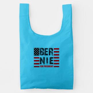 Bernie Sanders US Flag Baggu Reusable Bag
