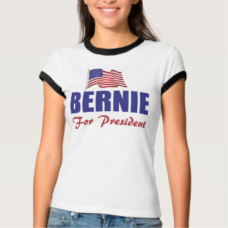 Bernie Sanders Women's Bella Ringer T-Shirt