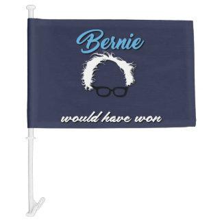 Bernie Sanders Would Have Won Car Flag