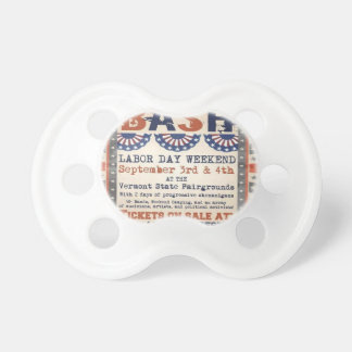 Bernie's 75th Birthday Bash and Labor Day Festival Pacifiers