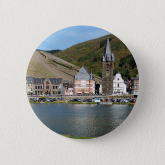 Bernkastel Kues at Moselle 6 Cm Round Badge