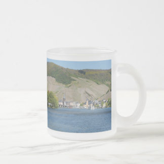 Bernkastel Kues at Moselle Frosted Glass Coffee Mug