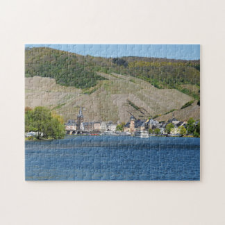 Bernkastel Kues at Moselle Jigsaw Puzzle