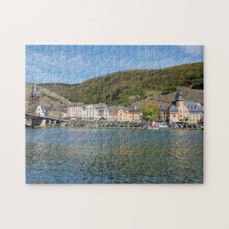 Bernkastel Kues at Moselle Puzzle