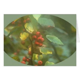Berries 02 card