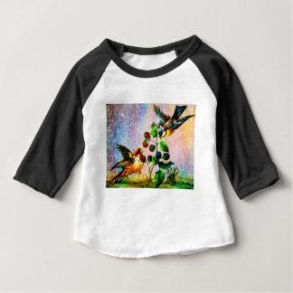 BERRIES AND BIRDS BABY T-Shirt