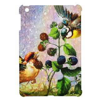 BERRIES AND BIRDS COVER FOR THE iPad MINI
