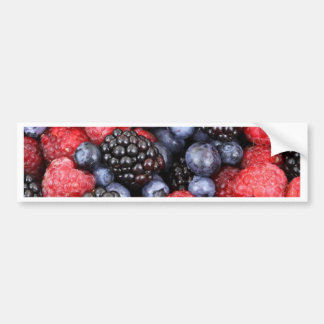 berries background bumper sticker