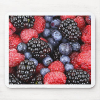 berries background mouse pad