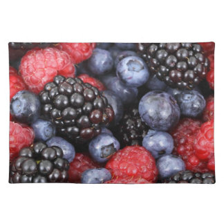 berries background placemat