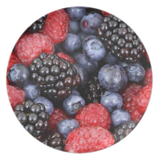 berries background plate