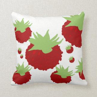 Berries Blossom Decor#7a Modern Throw Pillows