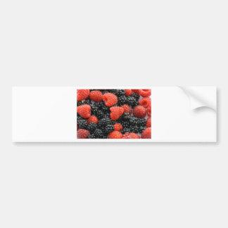 Berries Close Up Bumper Sticker
