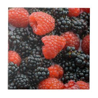 Berries Close Up Tile