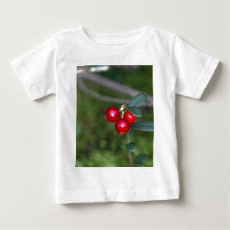 Berries of a wild lingonberry (Vaccinium vitis-ide Baby T-Shirt