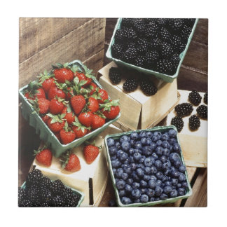 Berries Small Square Tile