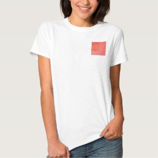 Berry and Papaya Damask T-shirt