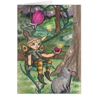 """Berry Babies"" Faerie Card"