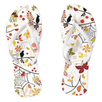 BERRY BIRDS Slim Strap FlipFlops Thongs