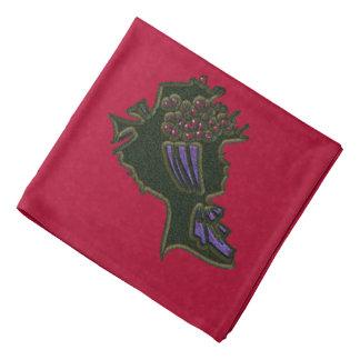 Berry Bonnet Head Kerchief