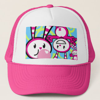 BERRY BUNNY - Berry  Collage Trucker Hat