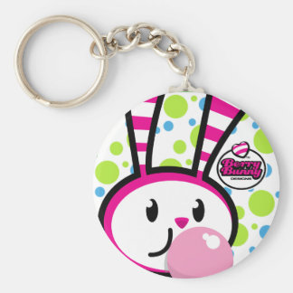BERRY BUNNY - Bubble Bunny Basic Round Button Key Ring