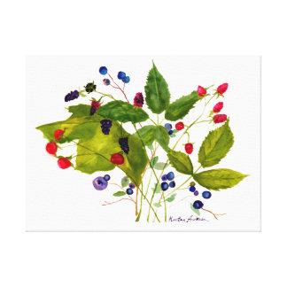 berry canvas