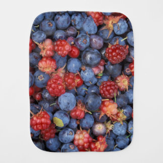 Berry Delight Baby Burp Cloth