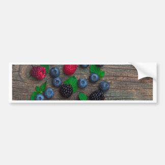 berry fruit background bumper sticker