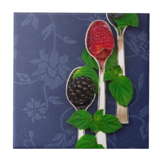 berry fruit background ceramic tile