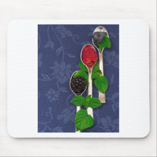 berry fruit background mouse pad