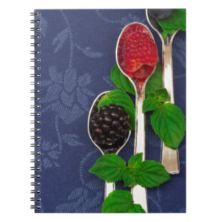 berry fruit background notebook