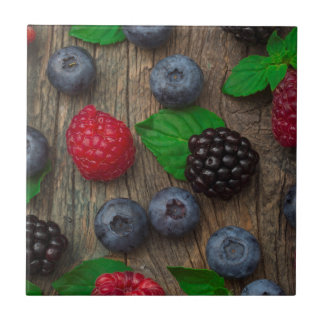 berry fruit background tile