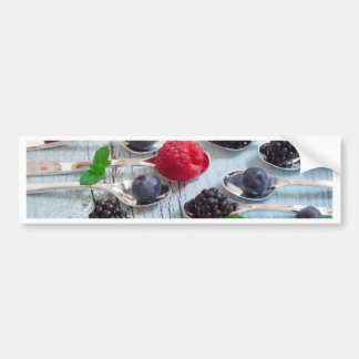 berry fruit bumper sticker