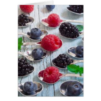 berry fruit card