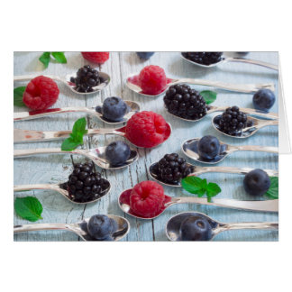 berry fruit card