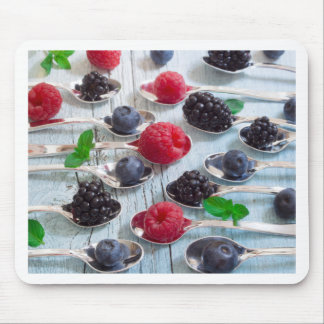berry fruit mouse pad