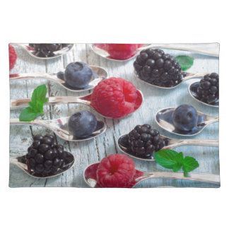 berry fruit placemat