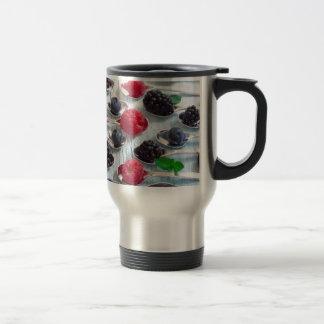berry fruit travel mug