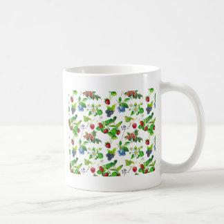 Berry Garden Spring Forest Cute Cottage Art Unique Coffee Mug