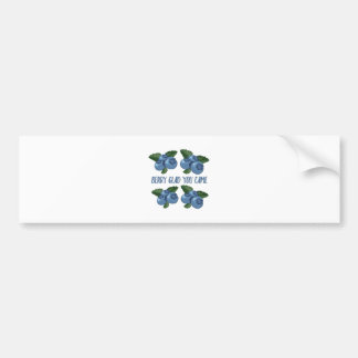 Berry Glad Bumper Sticker