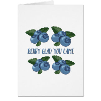 Berry Glad Card