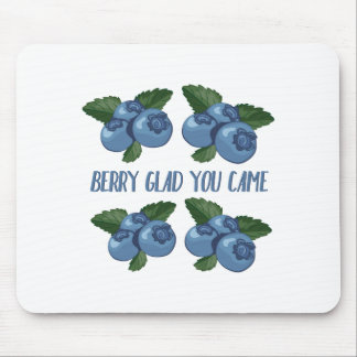 Berry Glad Mouse Pad