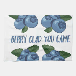 Berry Glad Tea Towel