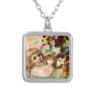 BERRY GOOD! SILVER PLATED NECKLACE